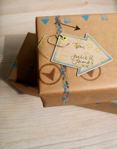 POTD_May_wrapping paper_Arrows_tag