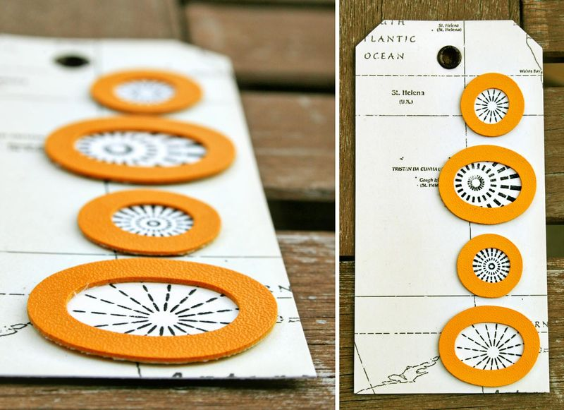 Orange circles tag