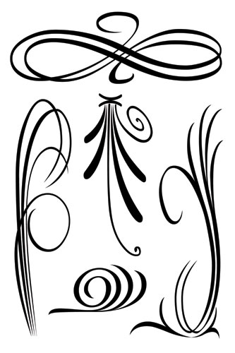 Elegant-swirls