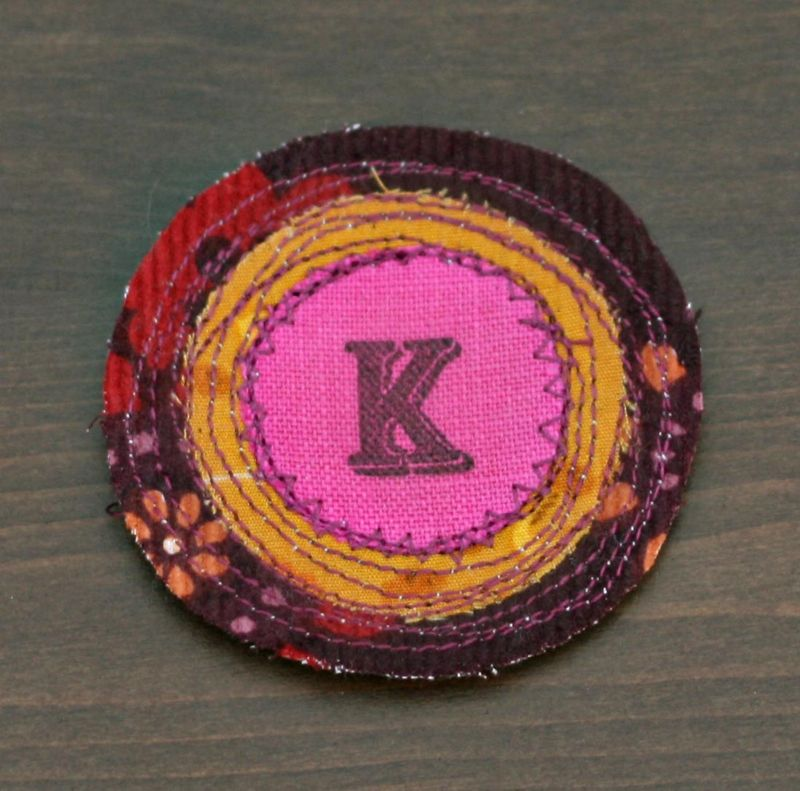 Autumn K brooch