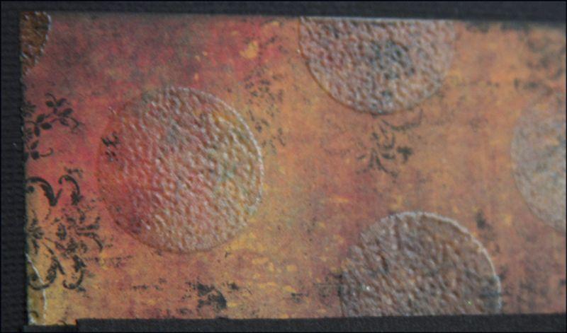 Copper Birthday dots