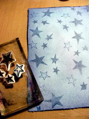 4 STAMP STARS