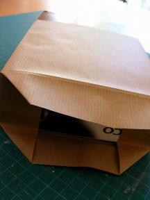 5 SCORE AND FOLD ROUND BOX