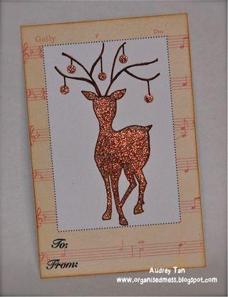 Label_reindeer antlers