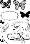 093833-swirls-and-butterflies-set